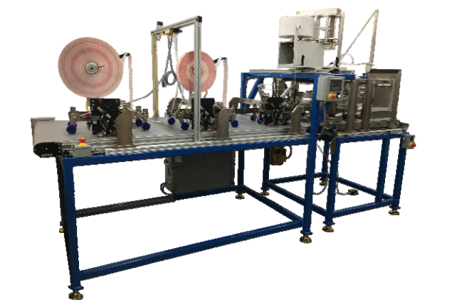 SD-40 SF-40 automatic taping system with automatic feed